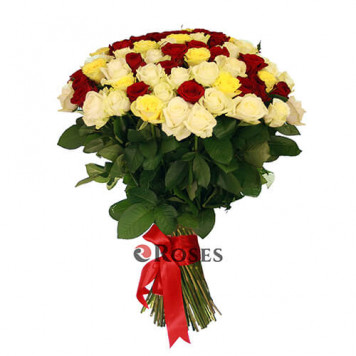 """Bouquet """"For You"""" 101 roses"""