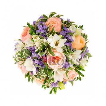 "Wedding bouquet ""Roso"""